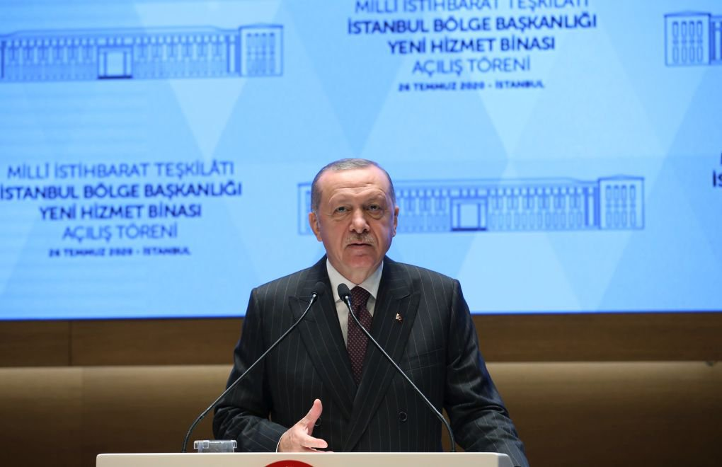Erdoğan: Turkey's intelligence organization has been a game-changer in Libya