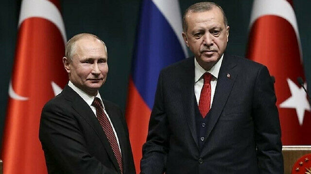 Erdoğan, Putin discuss Libya, Syria over phone
