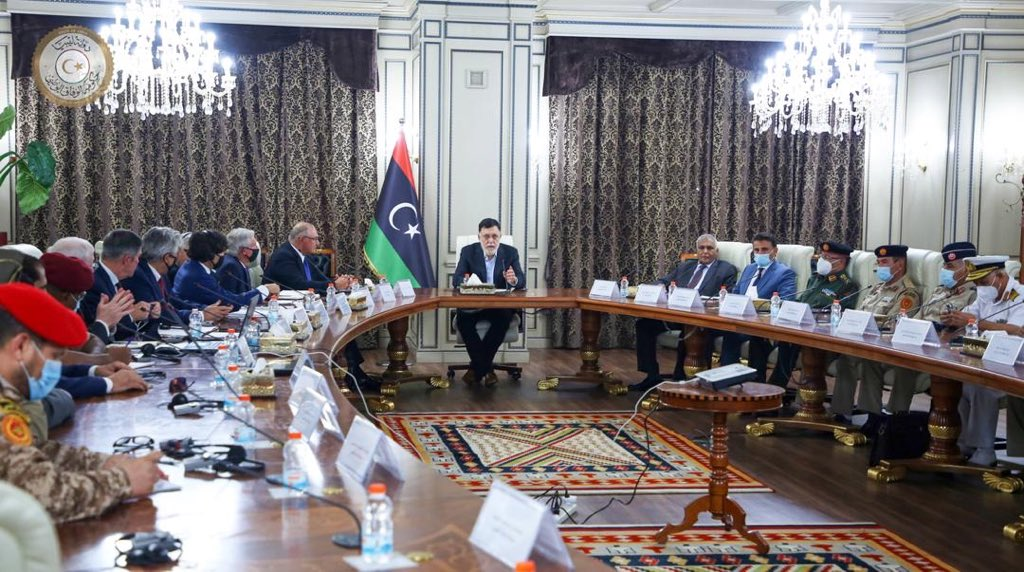 Libya/US : Al-Sarraj discusses security arrangements with US Jones Group International