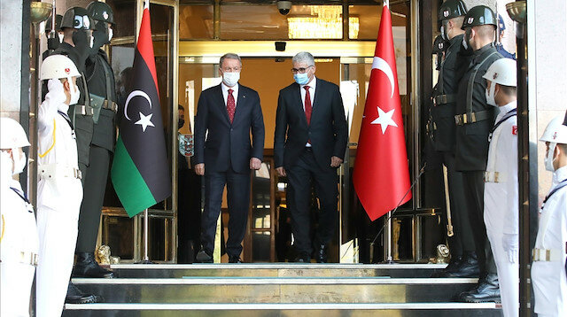 Turkish DefMin, Libyan minister meet in Ankara