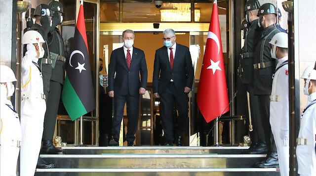 Turkish DefMin, Libyan minister meet inAnkara