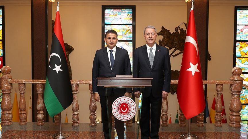 Libya's Defense Minister meets Turkish counterpart inAnkara