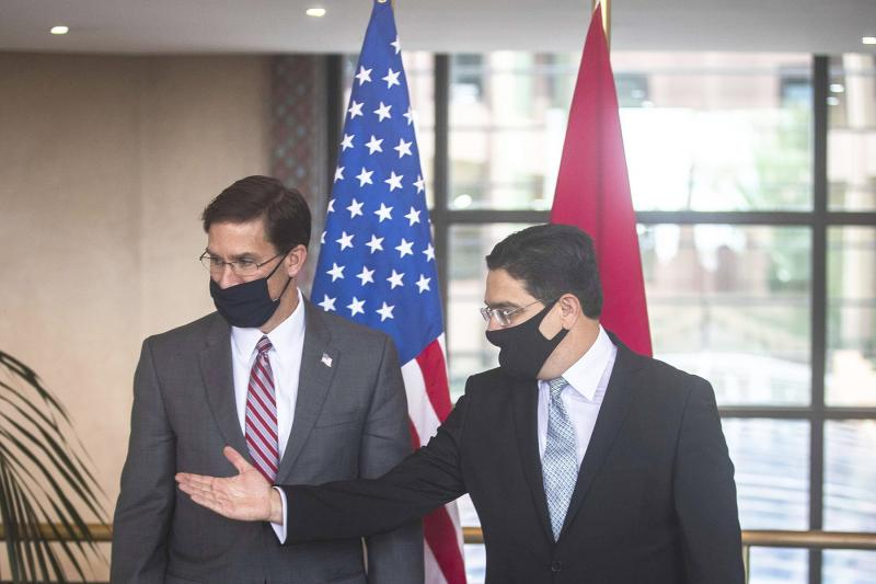 Esper reaffirms close security ties between US, Morocco