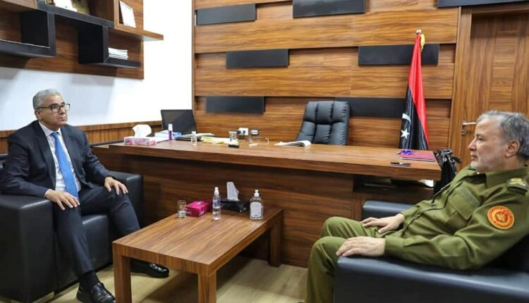 Ministry of interior looks into cooperation with western military