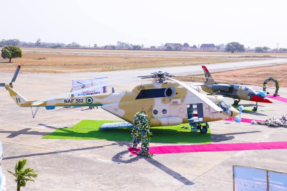 Second Nigerian Air Force Mi-171Einducted
